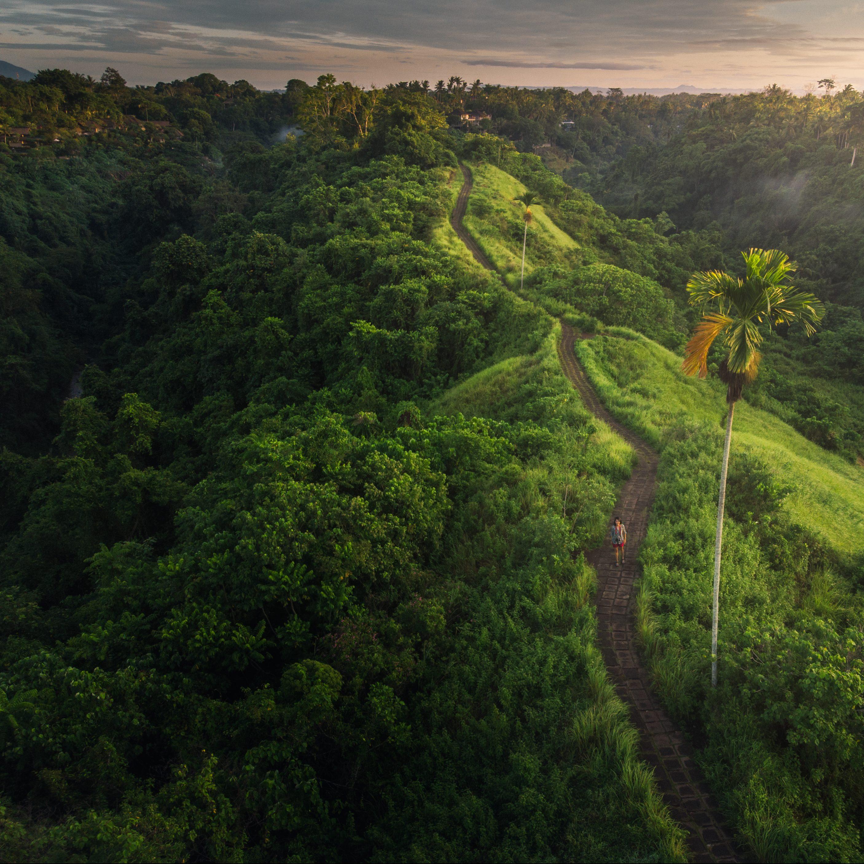 Bali Mountain Range
